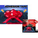 30 Inch Red Jum-bow Non Magnetic Bow - Adhesion Tape Included