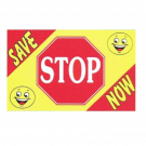 Stop Save Now Flag 3x5