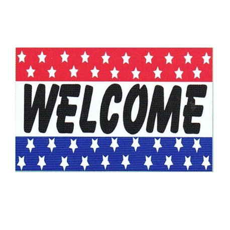 Welcome Flag 3x5 width=