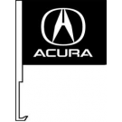 Acura Clip-On Car Flag. Qty 6