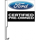 Ford Certified Pre Owend Clip-On Car Flag. Qty 6
