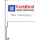 GM Certified Used Vehicles Clip-On Car Flag. Qty 6
