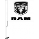 Ram Clip-On Car Flag. Qty 6