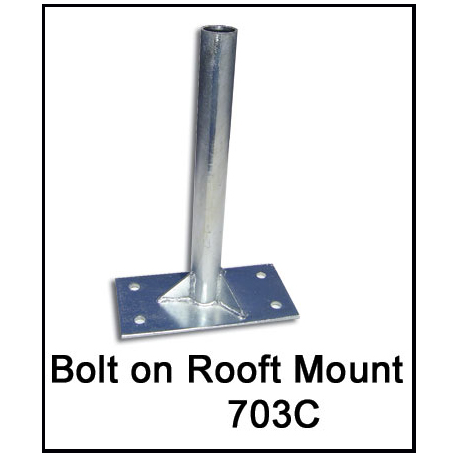 Roof Mount Flagpole Holder width=