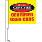 Toyota Certified Used Cars Clip-On Car Flag. Qty 6