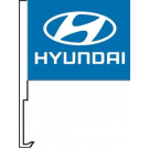 Hyundai Clip-On Car Flag. Qty 6
