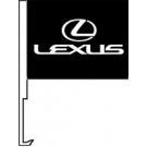 Lexus Clip-On Car Flag. Qty 6