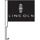 Lincoln Clip-On Car Flag. Qty 6