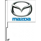 Mazda Clip-On Car Flag. Qty 6