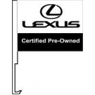 Lexus Certified Pre Owned Clip-On Car Flag. Qty 6