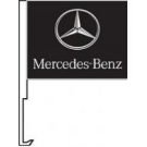Mercedes Benz Clip-On Car Flag. Qty 6