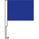 Blue Clip-On Car Flag. Qty 6