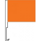 Orange Clip-On Car Flag. Qty 6