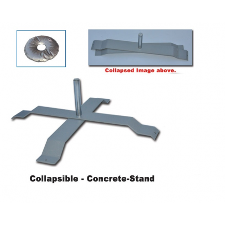 X-Stand Flagpole Holder with Weighted Bag width=