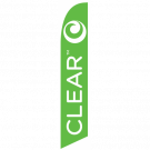 Clear Feather Flag