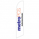 Metro Pcs Authorized Dealer Feather Flag