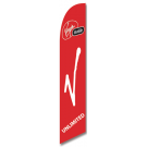 Virgin Mobile Feather Flag