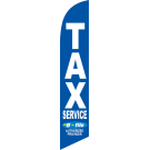 Tax Service E-File Feather Flag