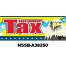 Income Tax Service Banner 3x8