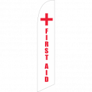 First Aid Feather Flag
