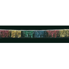 60 ft Multicolor Metallic Hula Streamer