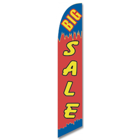 Big Sale feather flag width=