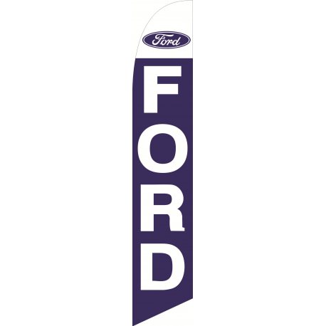 Ford feather flag Blue width=