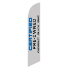 Certified Pre-owned chevrolet buick gmc feather flag