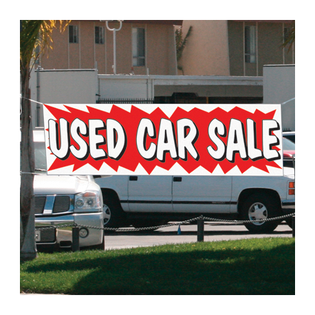 USED CAR SALE banner 3x20 ez292 width=
