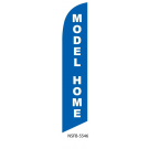 Model Home Feather Flag Blue 12ft Poly Knit
