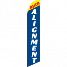 Auto Alignment feather flag