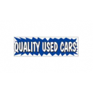 3x10 Banner QUALITY USED CARS ez292