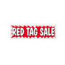 3x10 Banner RED TAG SALE ez292