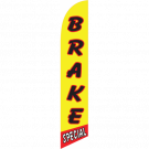 Brake Special feather flag yellow