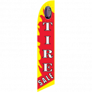 Tire Sale feather flag red