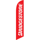 Bridgestone Tire feather flag red