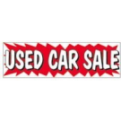 Banner 3x10 Used Car Sale ez292