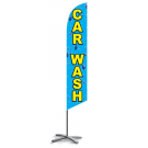 Car Wash feather flag