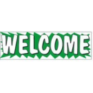 WELCOME BANNER 3x10 ez292