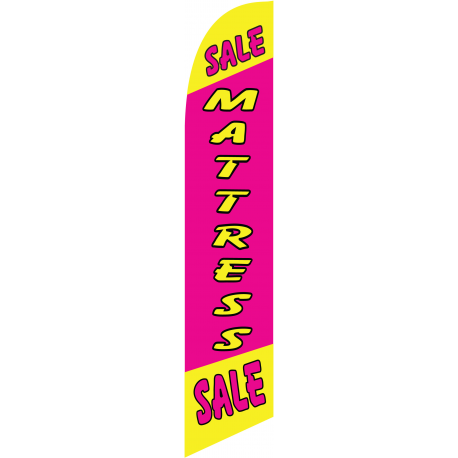 Mattress sale red feather flag width=