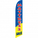 Mattress Sale Feather Flag Blue 12ft Poly Knit