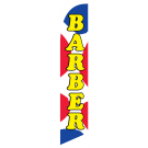 Barber new feather flag