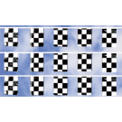 Checkered Poly Rectangle Pennants 50'