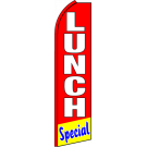 Lunch Special Swooper Flag