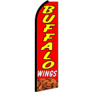 Buffalo Wings Swooper Flag