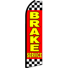 Brake Service Swooper Flag