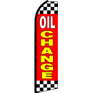 Oil Change Swooper Flag