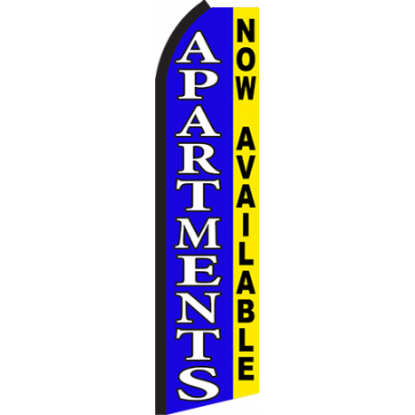 Apartments Now Available Swooper Flag width=