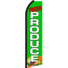 Fresh Produce Swooper Flag